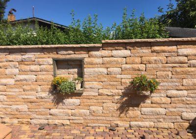 Santuro- Landhausmauer sandsteinbeige